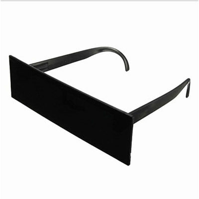One-piece Black Bar Space Robot Party Costume Futuristic Novelty Sun Glasses