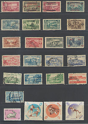 Stamps  Lebanon  25Pc Lot