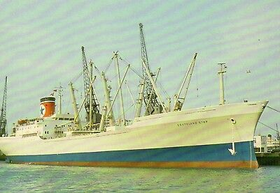 Blue Star Line - Southland Star - At Southampton