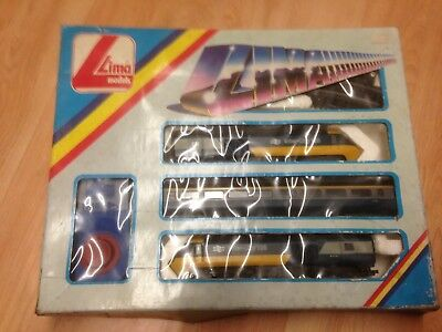 00 gauge Lima Intercity 125  HST Original Box Set   track and power controller.