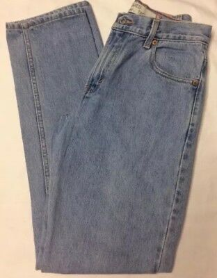 Vintage LEVIS Womens High Waisted 550 Mom Jeans Relaxed Fit Tapered Leg Size 10L