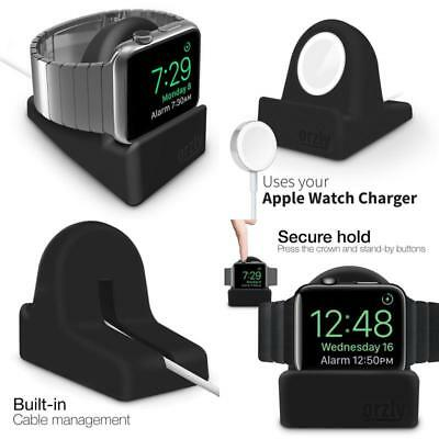 Apple Watch  Night Dock Bed Side Holder iWatch Accessories Charger Connectable