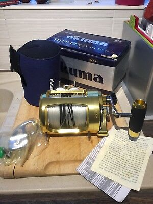 okuma reel Titus Gold Tg50 W 2 Sea Fishing Multiplier