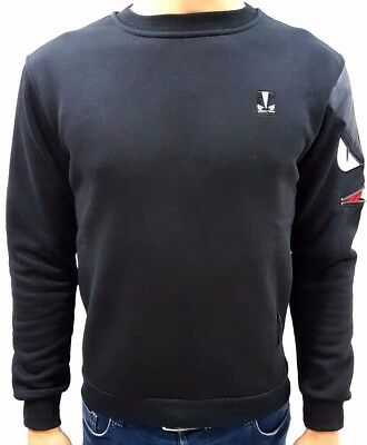 Fendi Sweatshirt Sweater Long Sleeve Black Colour Size: S, M, L, XL, XXL