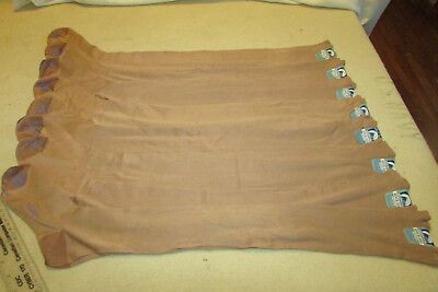 Vintage Mercerized Cotton / Rayon Lot 8 Pairs Long Seamed Stockings Hosiery