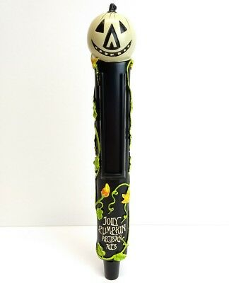 "JOLLY PUMPKIN Artisan Ale Tap Handle Beer Pull 11"" Tall Halloween New in Box"