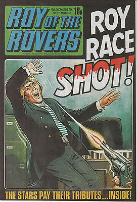 Roy of the Rovers - Shooting Issue (2009) Egmont Classic Comic (Reprints)