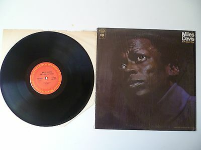 """Miles Davis """"in A Silent Way"""" Red Label Columbia Usa 1969"""