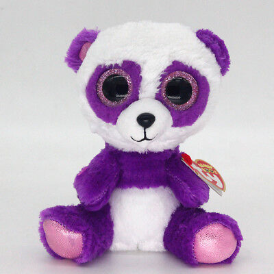 "Ty Beanie Boos 6"" BOOM BOOM Stuffed Plush Toy Soft Animals Toy Girls&Boys Dolls"