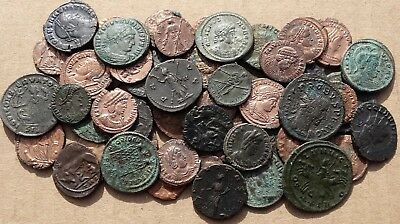 LOVELY !!!   LOT  of  54  VARIOUS ROMAN IMPERIAL COINS