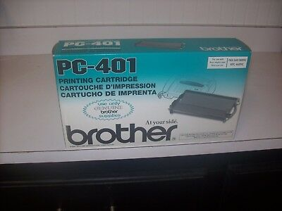 Brother Pc-401 Fax Printing Cartridge