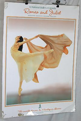 Vintage Poster National Ballet of Canada Romeo and Juliet Chan Hon Goh