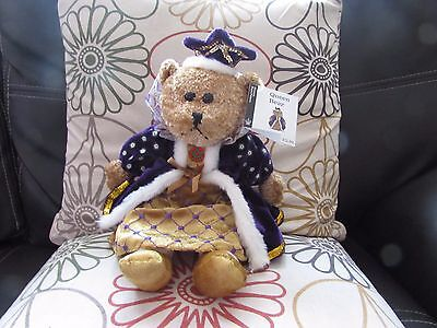 Soft Plush Collectable Queen Bear Toy From The Historic Royal Palaces Collection