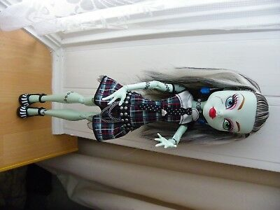 "Extra Large Monster High Doll - Frankie Stein 17"" Tall - VGC"