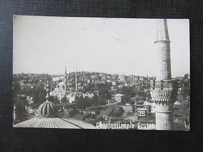 Ak CONSTANTINOPLE Seutar  Moschee 1925