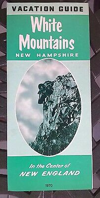1970 Vacation Guide White Mountains New Hampshire New England