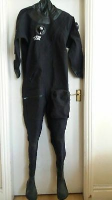 Otter Brittanic diving drysuit in great condition plus Seacsub balaclava