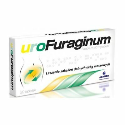 Urofuraginum 50mg, 30 tabletts URINARY TRACT INFECTION  UK STOCK furagina