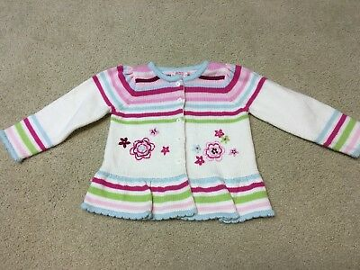 Girls knit holiday sweater - size 3T - Great Condition
