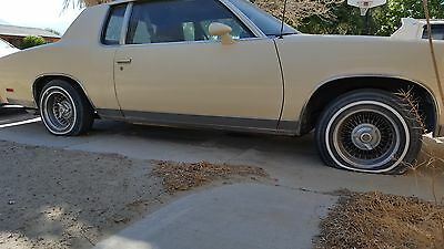 1979 Oldsmobile Cutlass  1979 OLDSMOBILE CUTLASS