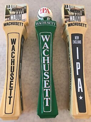 Wachusett Brewing Beer Tap Handle (lot Of 3) Large Handles