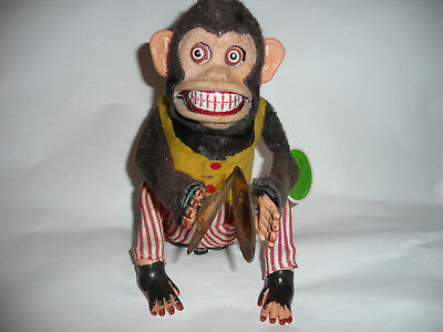 Vintage Musical Jolly Chimp And Working Perfect!
