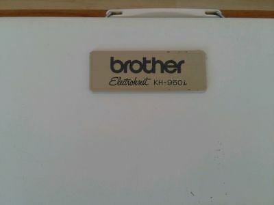 Brother KH-950i electroknit knitting machine in very good working condition