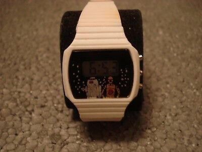 VINTAGE 80s STAR WARS KIDS WATCH VERY RARE NEW!!!