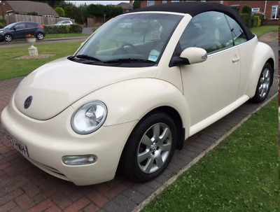 VW 53 Plate Beetle Cabrio Diesel,, MOT now SORN  (Cat C repaired)