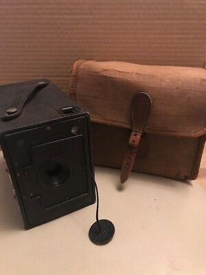 Box Brownie Style Camera, Vintage, Collectable, Ensign,