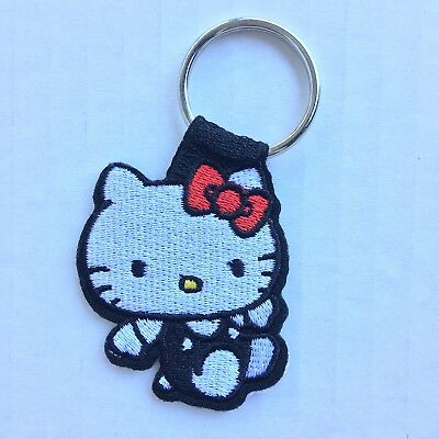 Hello Kitty Sanrio Cute Keyring Keychain For Purse AUTHENTIC Patch
