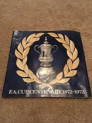 FA CUP Centenary 1872 - 1972 ESSO football Coins Complete Set vintage