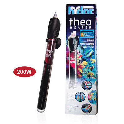 Hydor Submersible Glass Aquarium Heater - Original Theo 200W