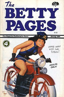 """""""The Betty Pages"""" #4, Bettie Page Fanzine, Pure Imagination, FIRST PRINTING!"""