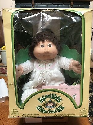 1983 CABBAGE PATCH KID with Adoption Papers