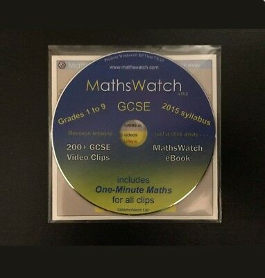 Maths watch cd