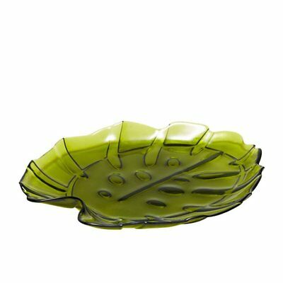 NEW Salt & Pepper Miami Platter Monstera 35x30cm Green