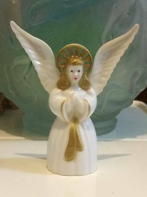 Vintage Reliable  angel tree hard plastic Christmas figurine made in Canada