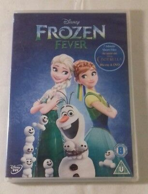 Frozen Fever DVD - Disney - UK - New and Sealed - Free P&P