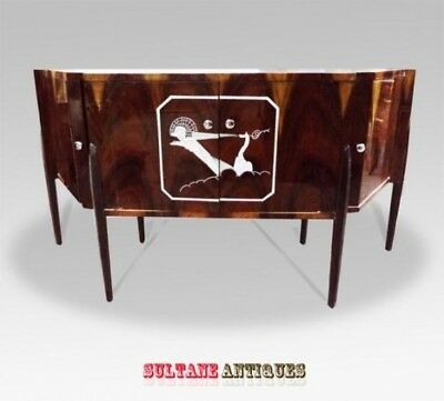 JUST Magnificent!! Ruhlman Art Deco inspired sideboard