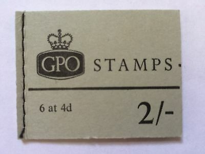 Stamp - GPO book of stamps 2/- 6 x 4d - Mint
