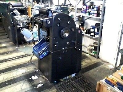A.B.Dick 360 Offset Printing Press Good Working Condition