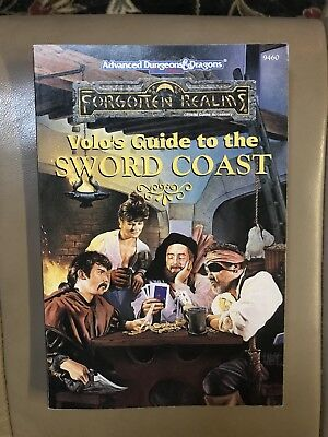 Volo's Guide to the Sword Coast - Advanced Dungeons & Dragons TSR 9460 AD&D
