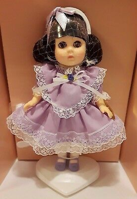 """1988 Ginny Vogue 8"""" Poseable Doll ~#71-4100 Lavender & Lace"""