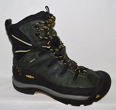 Keen Summit County Men's Sz 11 M 44.5 Leather Mesh Insulated Snow Hiking Boots
