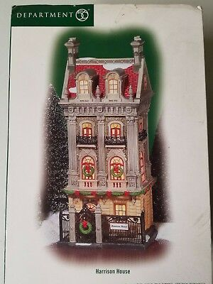 Dept 56 Christmas in the city Harrison house.
