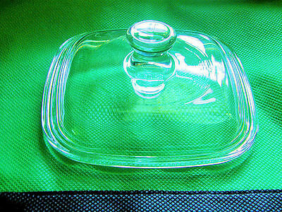 1 NEW Replacement Glass Lid FIT ALL Corning Ware Pyrex Petite Dishes P-41 & P-43