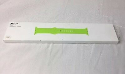 Genuine MJ4L2ZM/A Apple Watch 42mm Sport Band w/ Stainless Pin Green