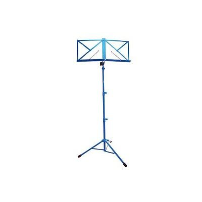 TGI MS20 Music Stand and Carry Bag, adjustable - BLUE - CLEARANCE SALE!!