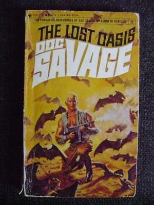 The Lost Oasis (Doc Savage), Kenneth Roberson - 1965 Bantam paperback